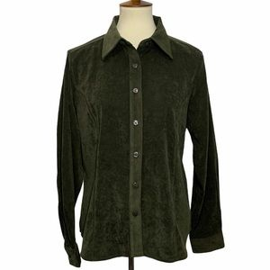 Analogy Button Down Long Sleeve Top